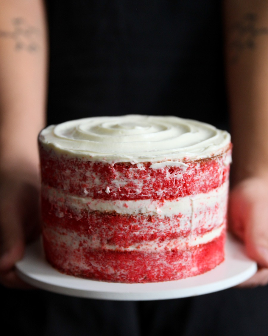 Bolo Red Velvet Cake por PratoFundo.com