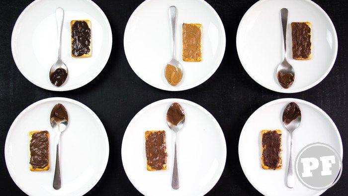 PraComer: Batalha de Nutella - Opções