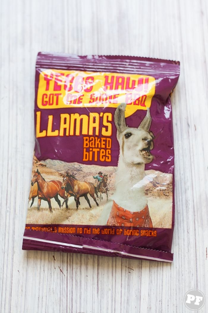 PraComer:: UK - Llamas Baked Bites
