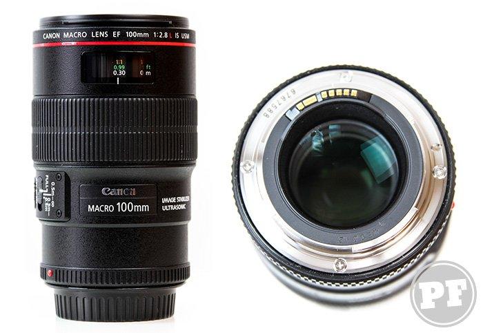 Equipamentos: Lente Canon EF 100mm f/2.8L MACRO IS USM por PratoFundo.com
