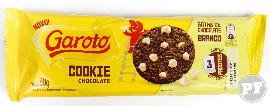 Embalagem do Garoto Cookie Chocolate