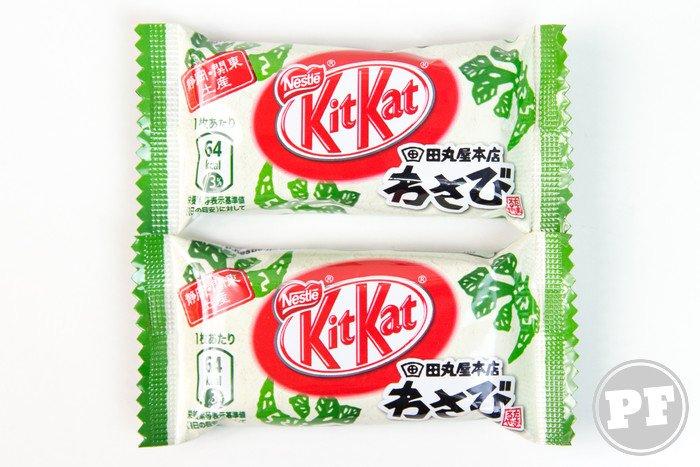 Kit Kat do Japão: Wasabi por PratoFundo.com