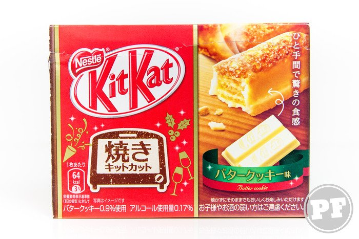 Kit Kat do Japão: Butter Cookie Assado por PratoFundo.com