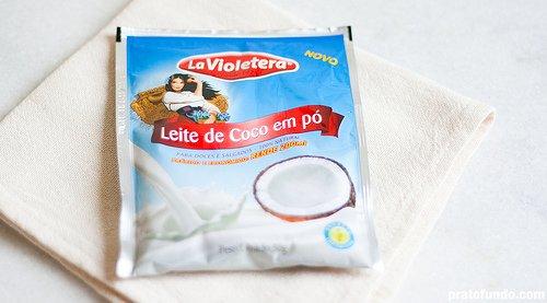 La Violetera: Leite de Coco em Pó