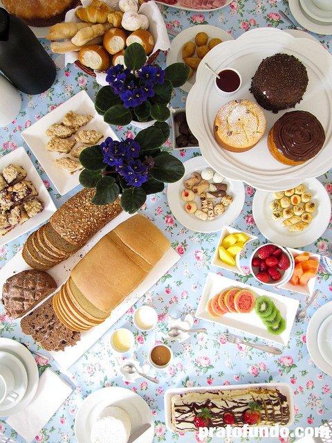 Café da Manhã Temático // Colonial Style Breakfast