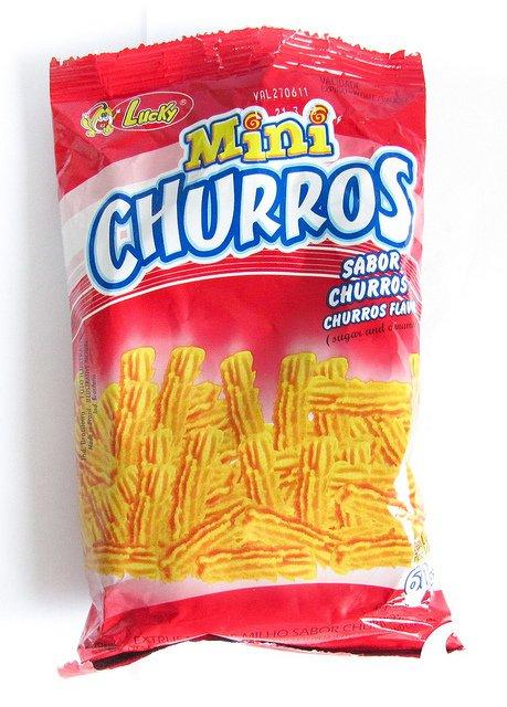 Mini Churros Lucky