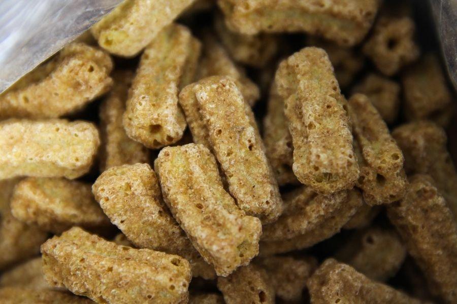 Cereal matinal tipo churros