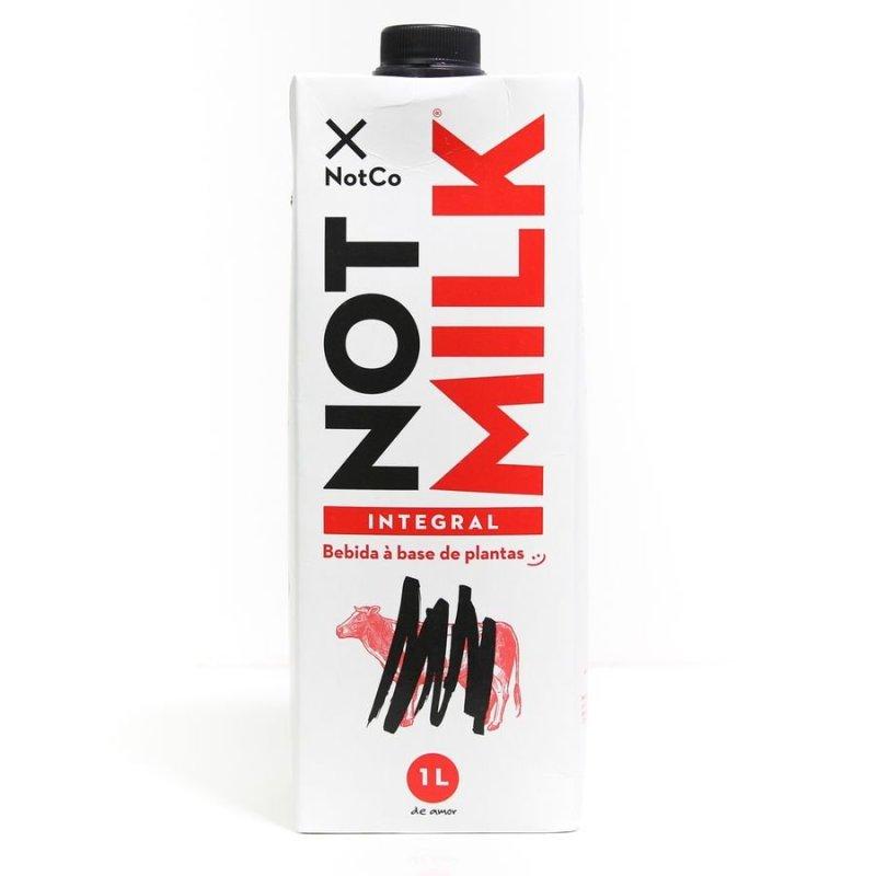 Embalagem do Not Milk: Bebida Vegetal Integral