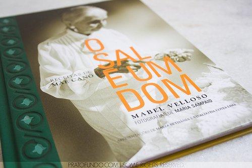 Livro - O Sal É Um Dom: Receitas de Mãe Canô