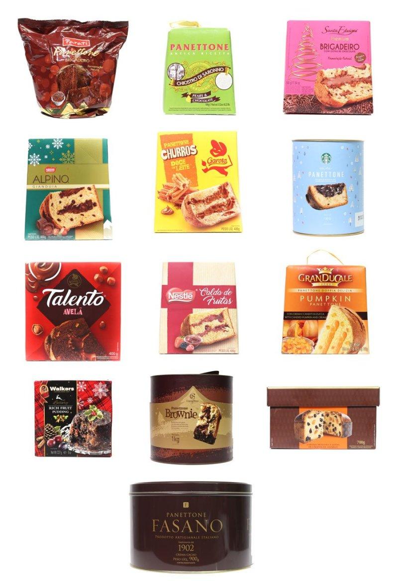 Panetone 2019: caixas de vários panetones