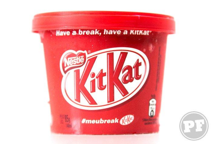 Sorvete Kit Kat da Nestlé por PratoFundo.com