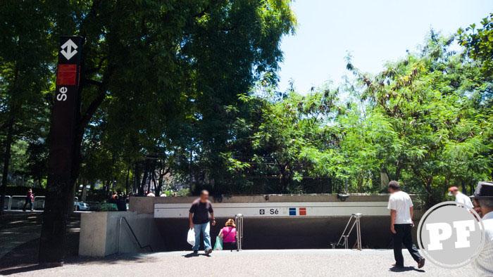 Rua Silveira Martins - Entrada/Saída do Metrô