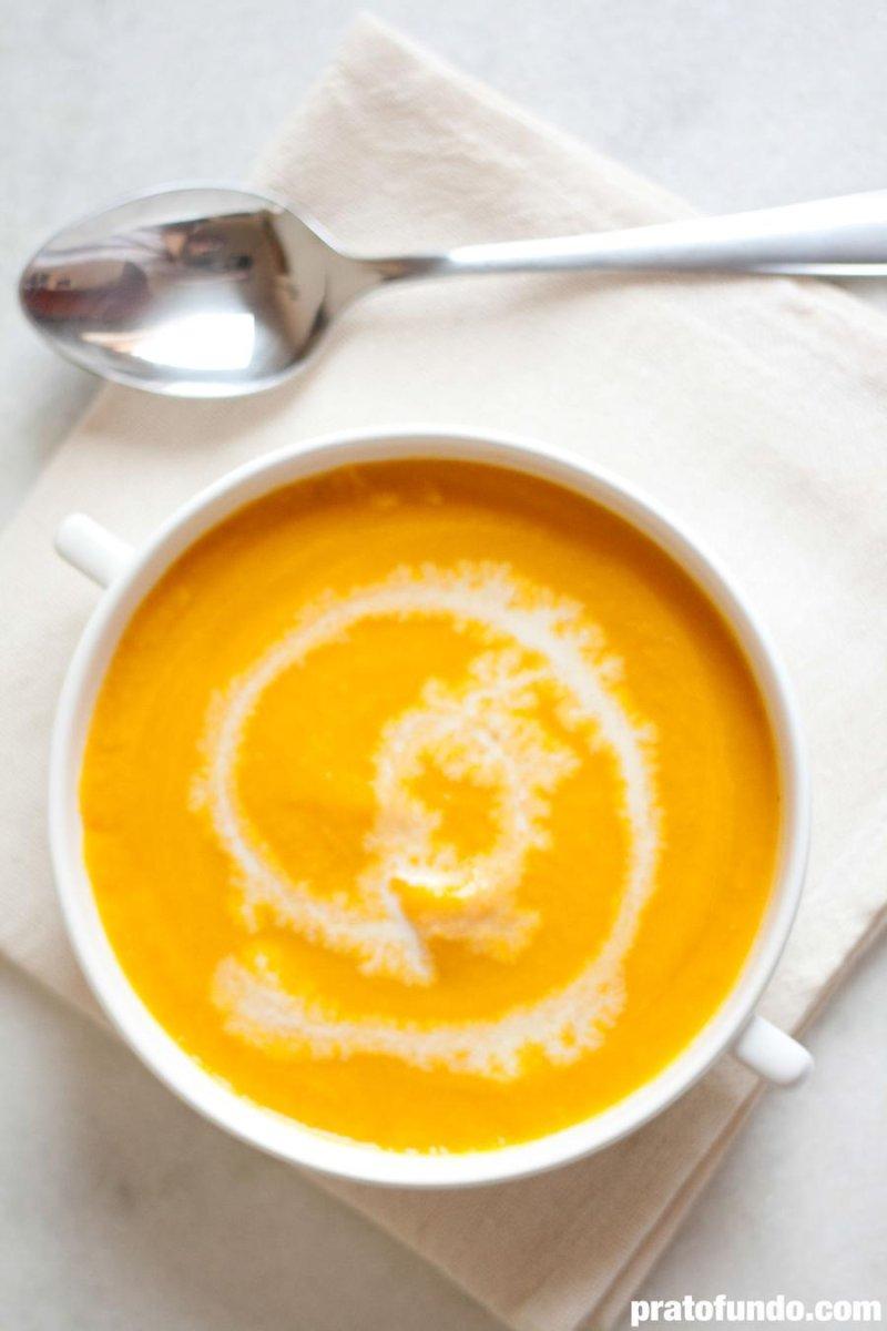 Sopa de Abóbora Cremosa