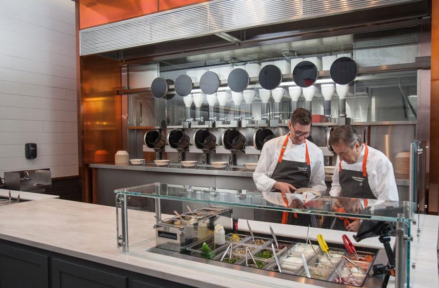 Spyce: chef Daniel Boulud