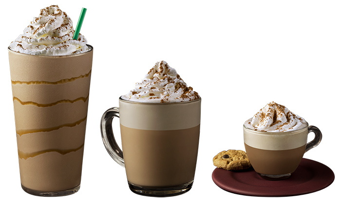 Churros Frappuccino®, Churros Latte e Espresso Churros.