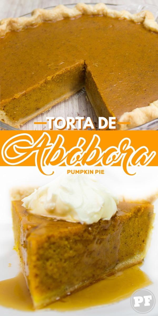 Pumpkin Pie: Torta de Abóbora Americana