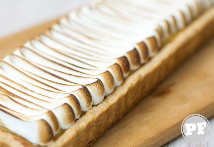 Torta de Limão com Merengue por PratoFundo.com