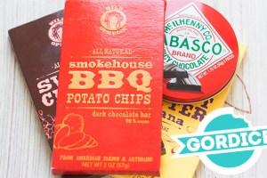 Gordice USA: Chocolate com Batata Chips