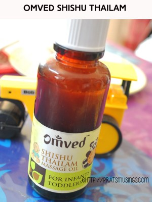 Omved Shishu Thailam, omved baby products review
