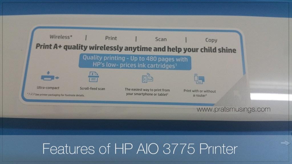 HP Deskjet Ink Advantage 3775 Review