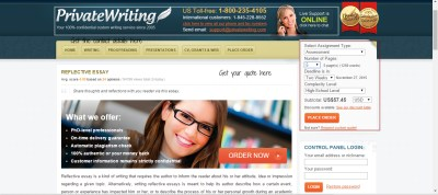 PrivateWriting Website Review