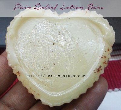 Pain Relief Lotion Bars