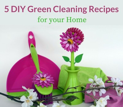 5 DIY Green Cleaning Recipes that Really Work