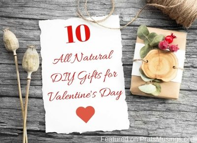 Natural DIY Gifts for Valentine's Day