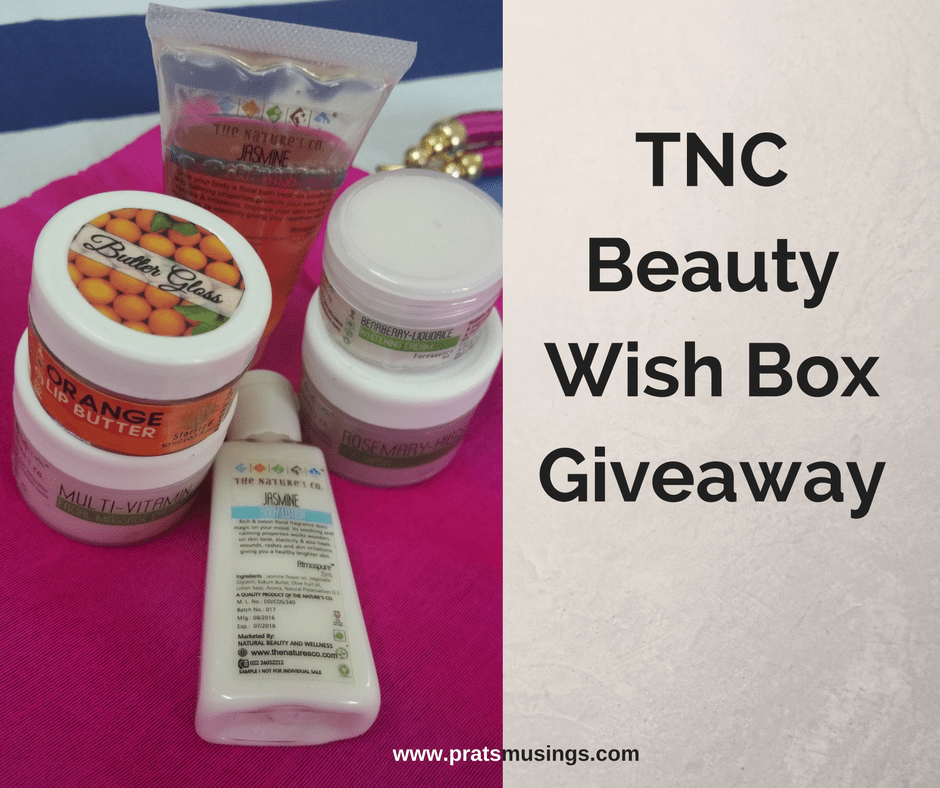 TNC Beauty Wish Box Giveaway 2