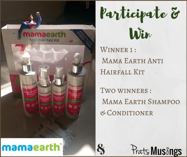 Mama Earth Anti Hairfall Kit