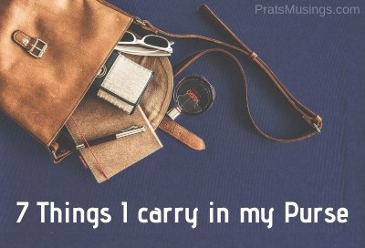 Things I Carry in my Purse