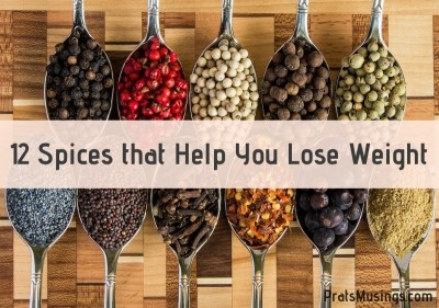 12 spices that help you lose weight
