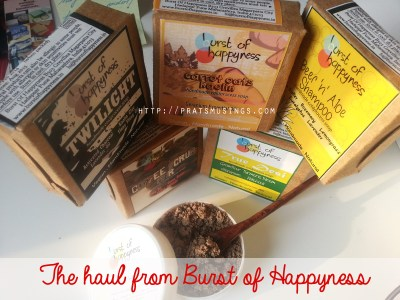 Burst of Happyness – Product Review {+ A Give Away}