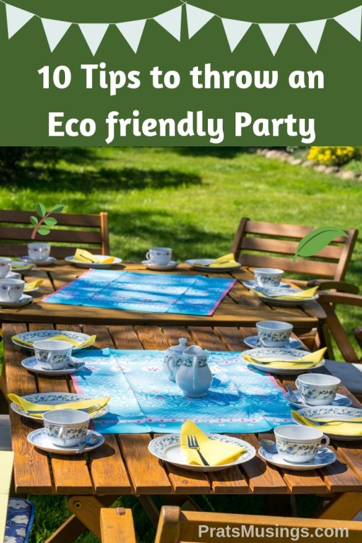 Tips to Throw an Eco Friendly Party