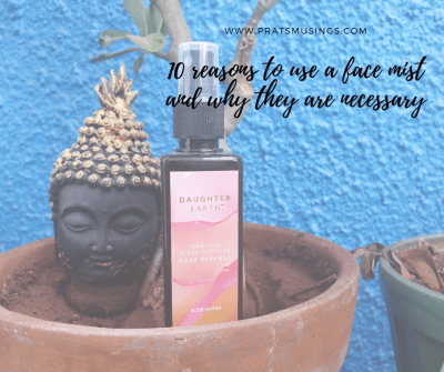 10 reasons to use a face mist and why they are necessary