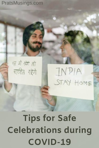 Tips for Safe Celebrations during COVID-19