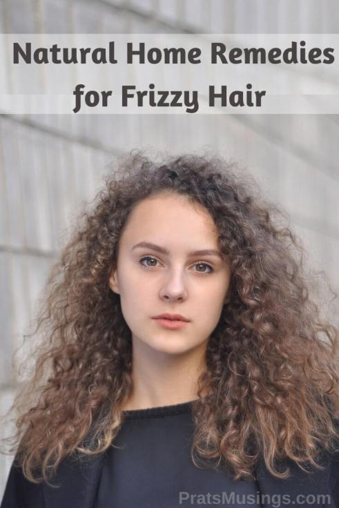 Natural remedies for frizzy hair