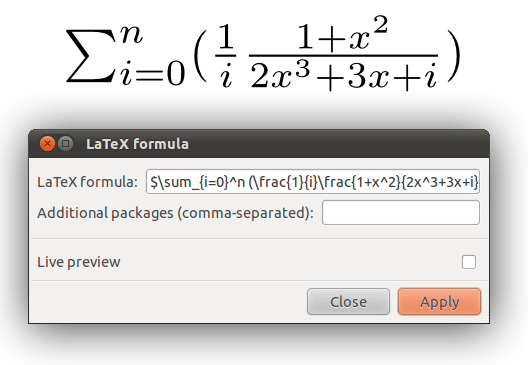 How to insert a Latex formula in Inkscape – DP and SIRSLab's