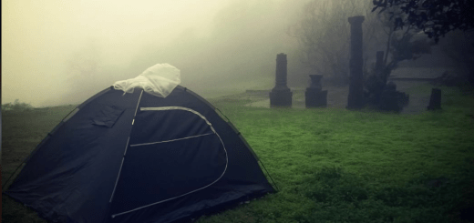 Camping in the storm