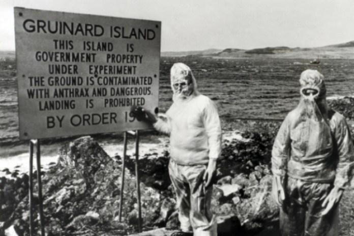 Esta isla nos recuerda el horror y lo que puede suponer una guerra biológica.