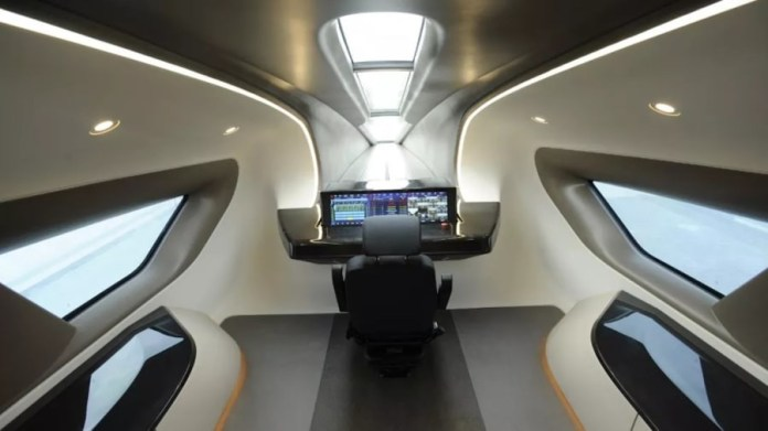Maglev interior
