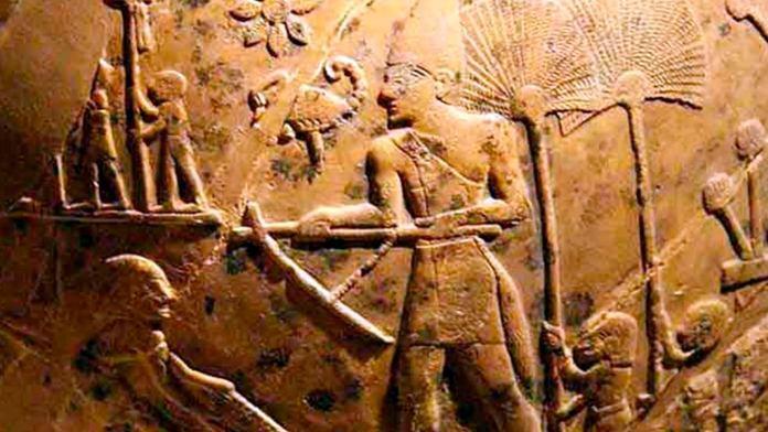 Rey escorpión, Monarca, Rey, Antiguo, Egipto, científicos, piedra caliza,, milenario, Egipto, cinco mil años ,antigüedad, Hieracómpolis, estado,
