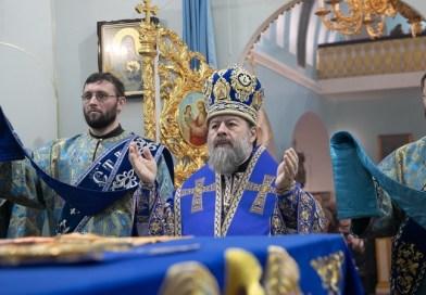 Владыка Митрофан совершил литургию в кафедральном соборе города