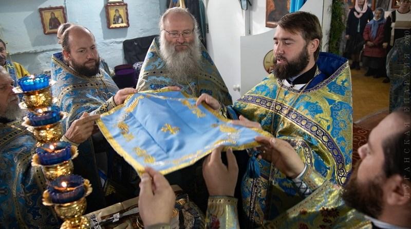 Секретарь епархии возглавил Престольное торжество