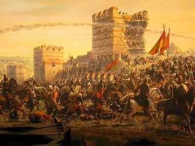Л. 17. Закат Византийской империи (ВИДЕО)