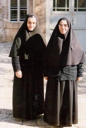 м. Тамара и ее тетя м. Феоктиста