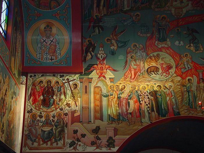 Росписи в Христорождественнском храме