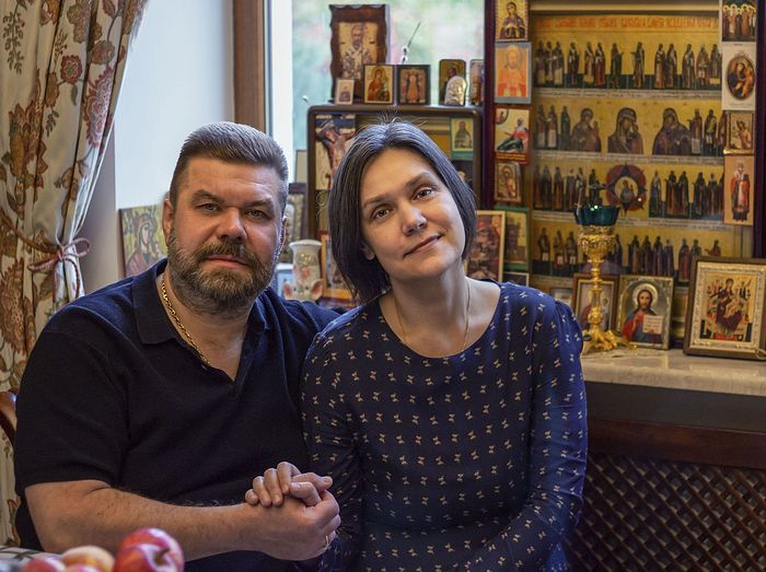 Alexander and Eugenia Ulyev