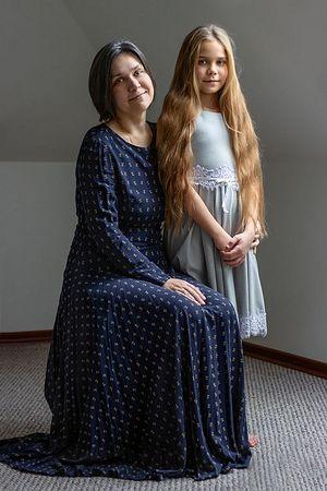 Мама и Василиса