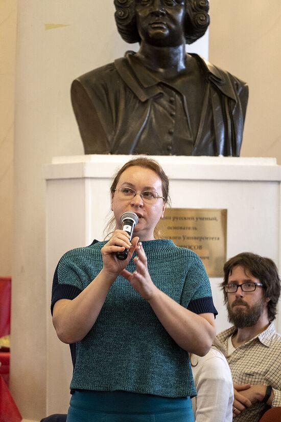 София Халберт, переводчик. Фото: Дмитрий Кирюхин